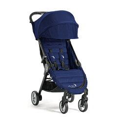 【淘氣寶寶】美國 baby jogger city tour 單人手推車《C形旋風收折 輕量旅行車》(藍) 贈同色收納背袋
