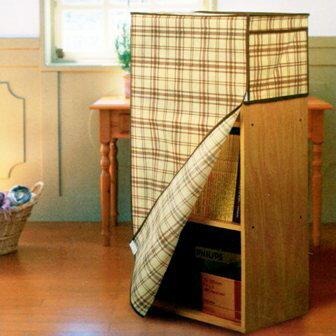 【珍昕】 生活大師 貼心層櫃防塵套+置物袋2色2尺寸(三層/四層)