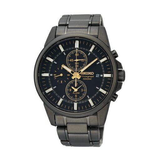 SEIKO精工 三眼計時時尚腕錶7T62-0LD0SD / SNAF07P1 - 限時優惠好康折扣