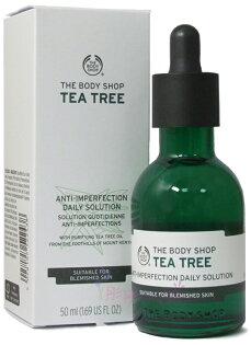 【彤彤小舖】The Body Shop 升級版-天然茶樹淨膚淨化調理菁萃 50ml 原廠真品
