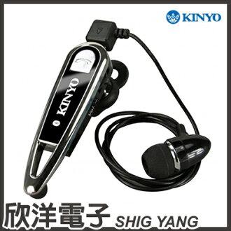 ※ 欣洋電子 ※ KINYO 藍芽立體聲耳機麥克風 BTE-3635/耳塞式、多功能、一對二、領夾式耳機 可搭配具藍牙功能平板電腦.手機