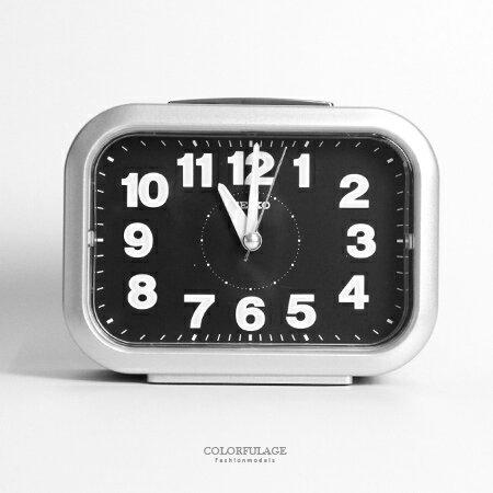 SEIKO 精工 傳統大聲公貪睡鬧鐘 穩定夜光 操作簡單 柒彩年代~NV1756~ 貨