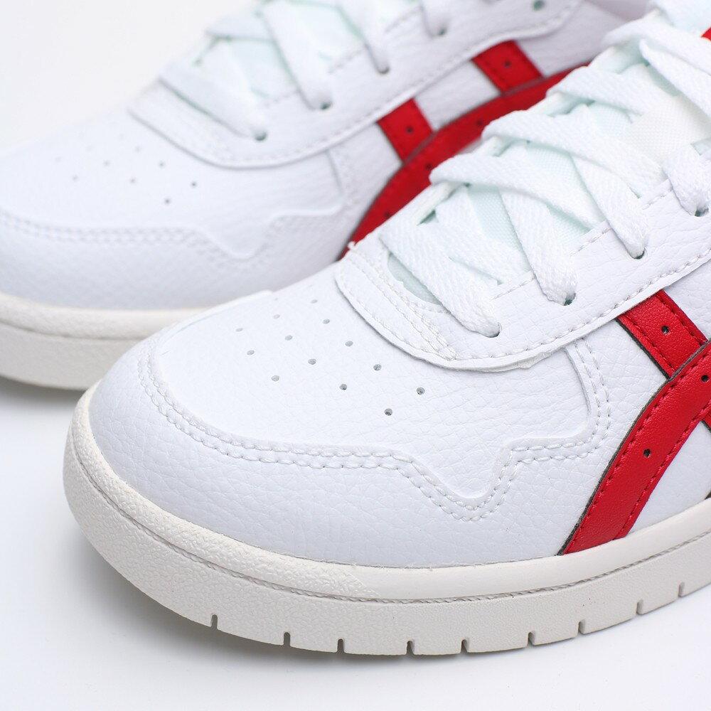 【❤️抗疫起來❤️滿額現折$200】ONITSUKA TIGER 白紅 奶油底 皮革 休閒鞋 女 (布魯克林) 1192A148100