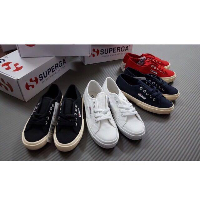 【SUPERGA】義大利國民鞋-白 Cotu - Classic2750 4