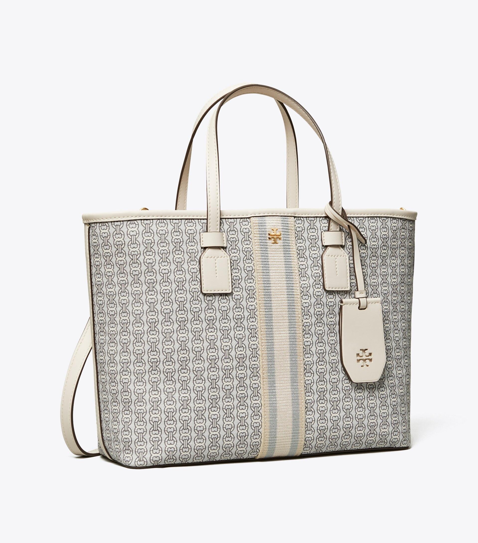 TORY BURCH TB女士小款提花手提包購物袋 53304 1