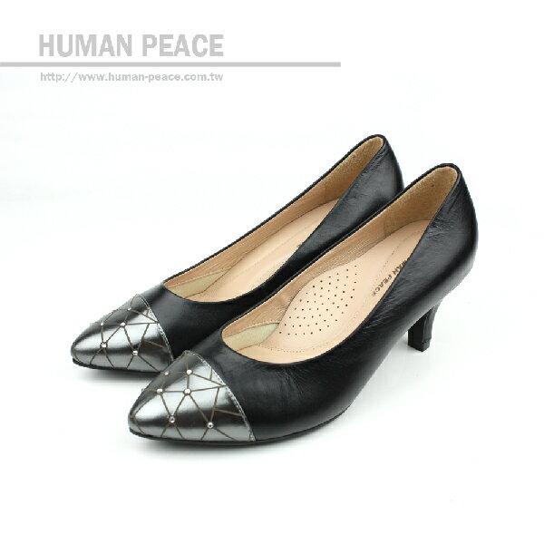 HUMAN PEACE 高跟鞋 黑色 女鞋 no196
