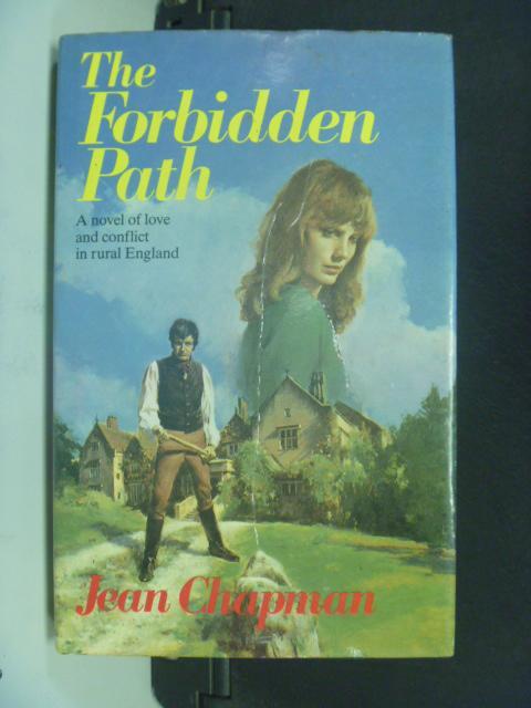 【書寶二手書T5/原文小說_HFZ】The Forbidden Path_Chapman, Jean