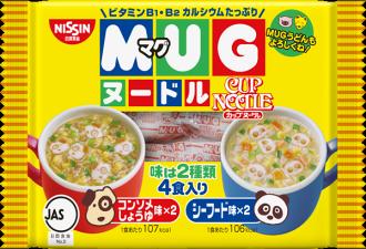 Nissin日清馬克杯麵4入-醬油海鮮94g
