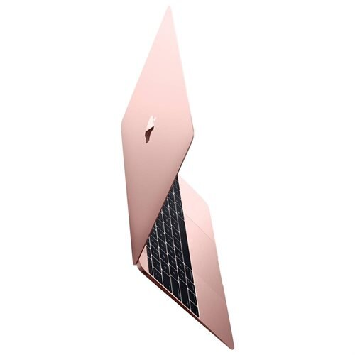 Apple Macbook (MMGL2LL/A) 12-inch Display 256GB - Rose Gold (Early 2016) (Certified Refurbished) 0