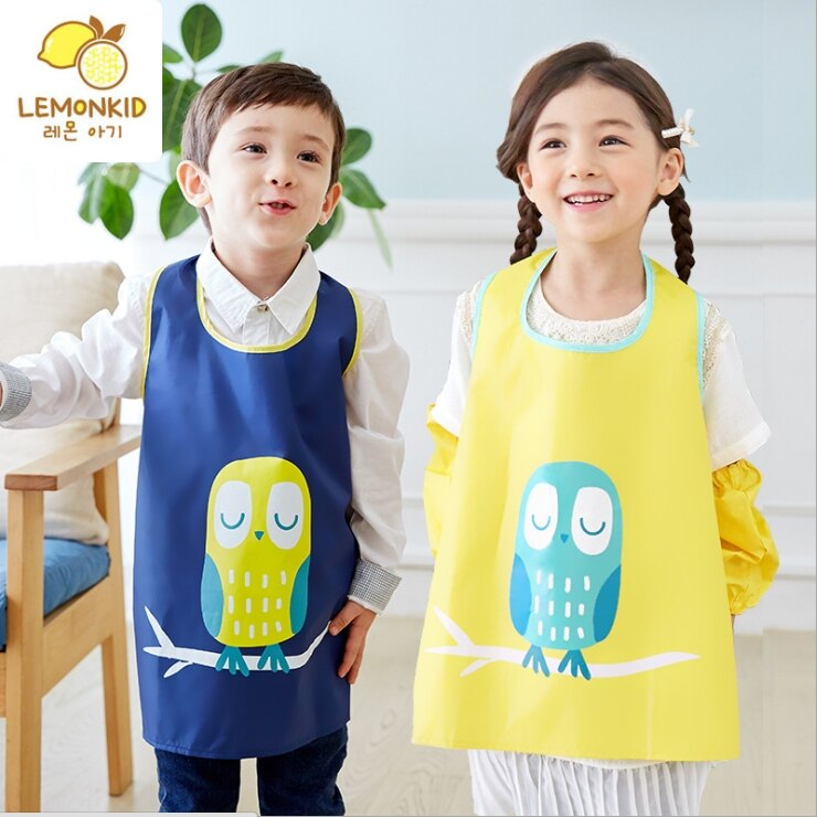 韓國Lemonkid兒童畫畫衣