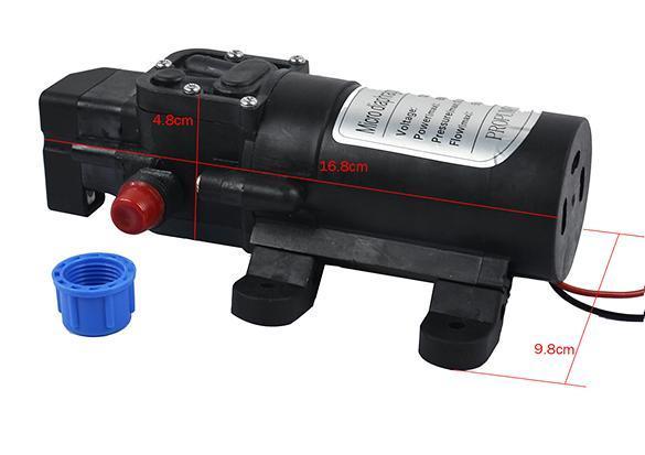 DC 12V 60W 5L/min Diaphragm High Pressure Water Pump Automatic Switch 3