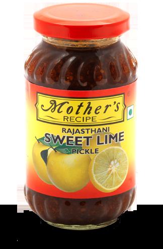 Mother's Rajasthani Sweet Lime Pickle 拉賈斯坦省 - 檸檬醃漬物