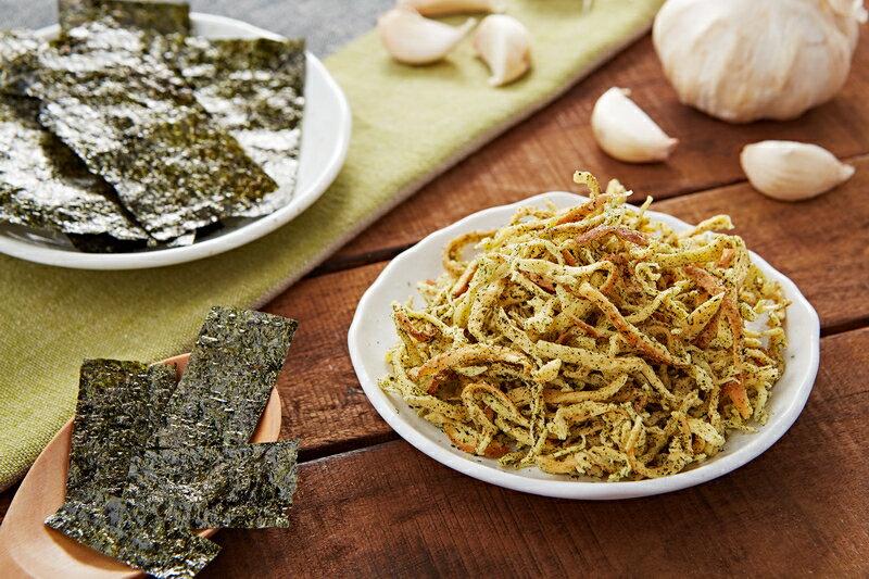 【天然恏食】 海苔香蒜乳酪絲(100g)