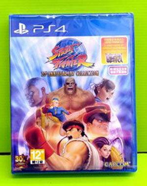 價  PS4 快打旋風 30 週年 合集 Street Fighter 30th 英文