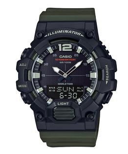 CASIO卡西歐HDC-700-3A長效電池數字指針經典雙顯腕錶