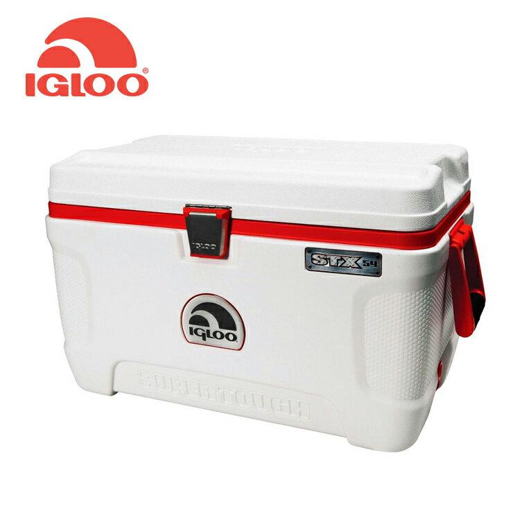 IgLoo SUPER TOUGH系列四日鮮54QT冰桶44946 / 城市綠洲 (露營用品、冰桶、美國冰屋、保鮮保冷)
