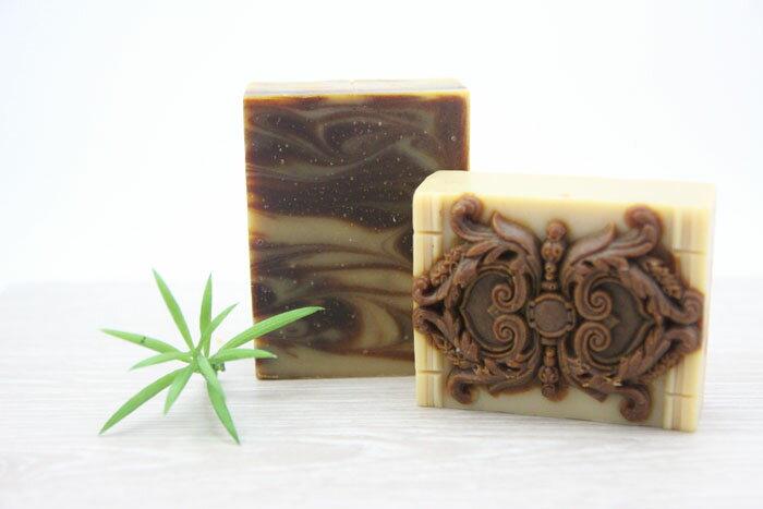 皂緣手工皂~大風草蠶絲薑皂 一入