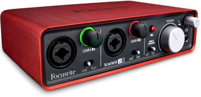 ㊣胡蜂正品㊣ 全新盒裝Focusrite Scarlett 2i2 USB介面錄音卡 2in/2out