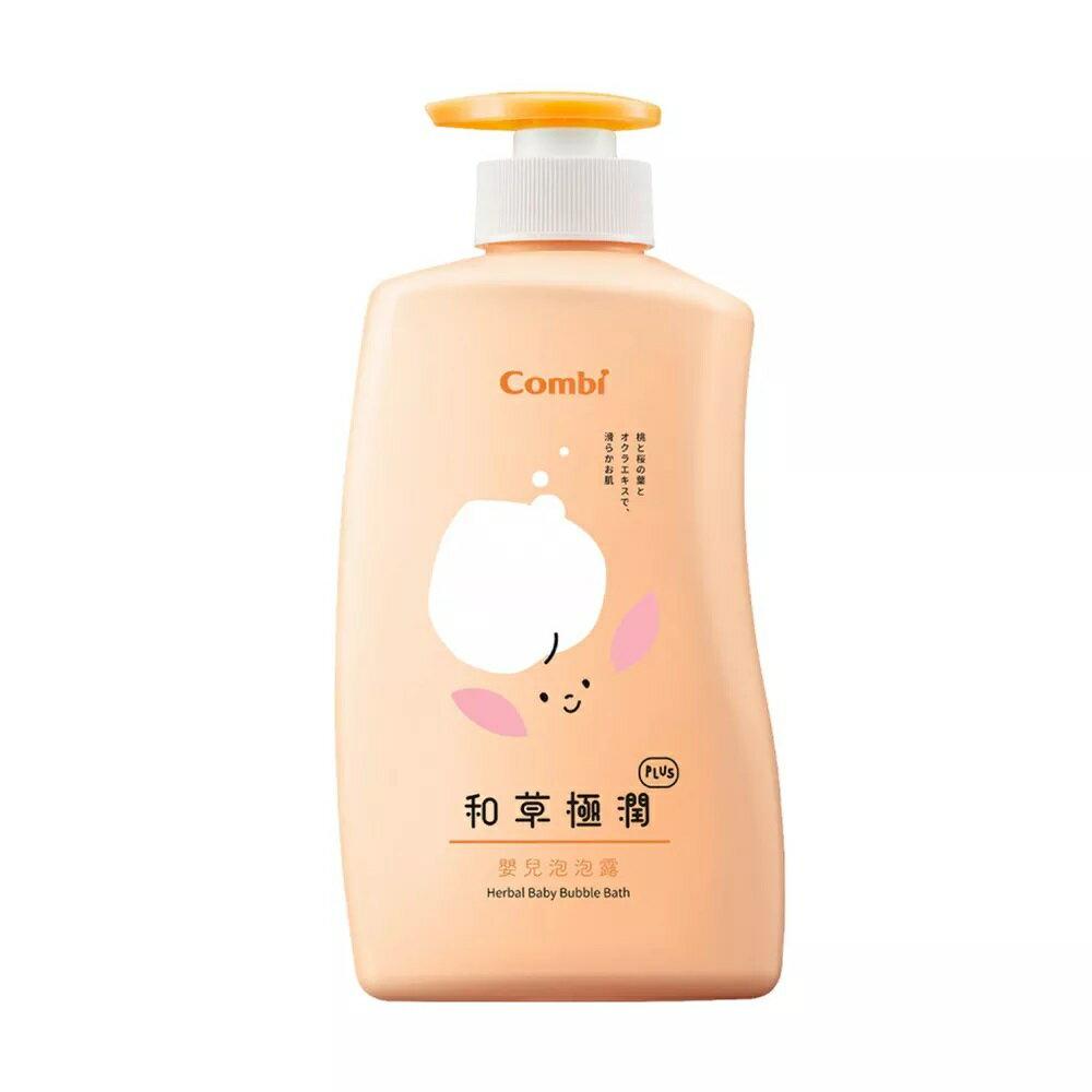 日本 Combi 和草極潤PLUS 嬰兒泡泡露(500ML)