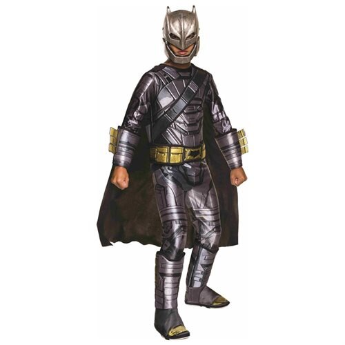 Boys Deluxe Armored Batman Dawn of Justice Costume sz Small 4-6 0
