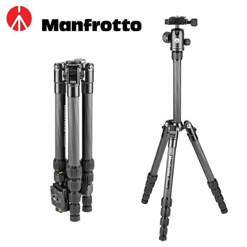 ◎相機專家◎ Manfrotto Element Traveler 小型 碳纖反摺三腳架 MKELES5CF-BH 公司貨