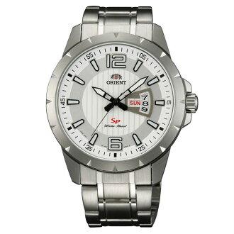 Orient 東方錶(FUG1X004W)運動風石英腕錶/白面43mm