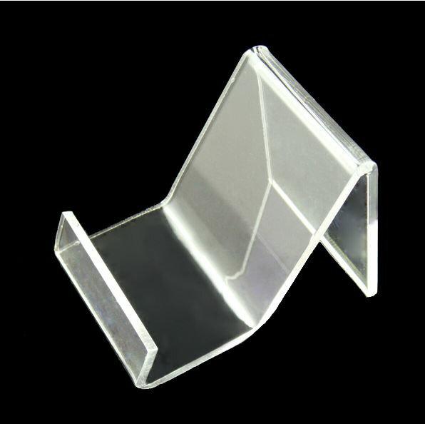 ^~N形底座^~ 3入 透明 壓克力 手機座 手機展示架 直立 托架 支架 支撐架 觀賞架