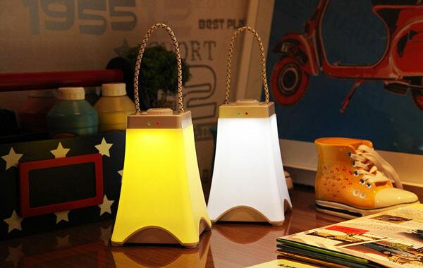手提充電式小夜燈 LED微景觀夜燈 手提燈 禮物 精靈燈 交換禮物 聖誕節 檯燈 展示燈 小夜燈 露營燈