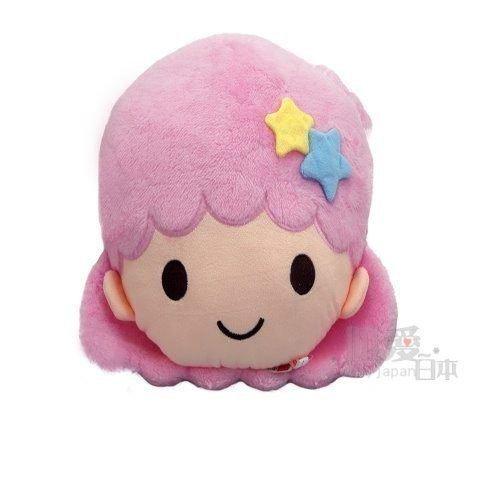 【真愛日本】14053100017 頭型抱枕-LALA 三麗鷗家族 Kikilala 雙子星 枕頭 靠枕
