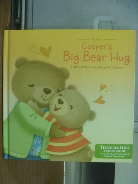 【書寶二手書T4/語言學習_KSU】Cooper's big bear hug