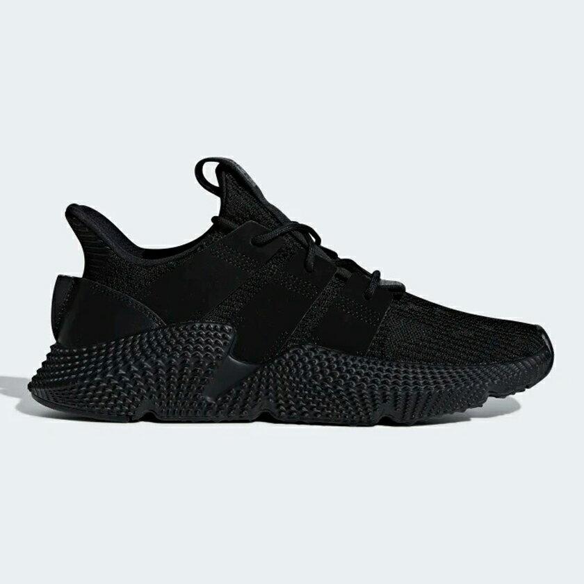 Adidas PROPHERE 男鞋 慢跑 休閒 透氣 潮流 針織 黑 【運動世界】DB2706