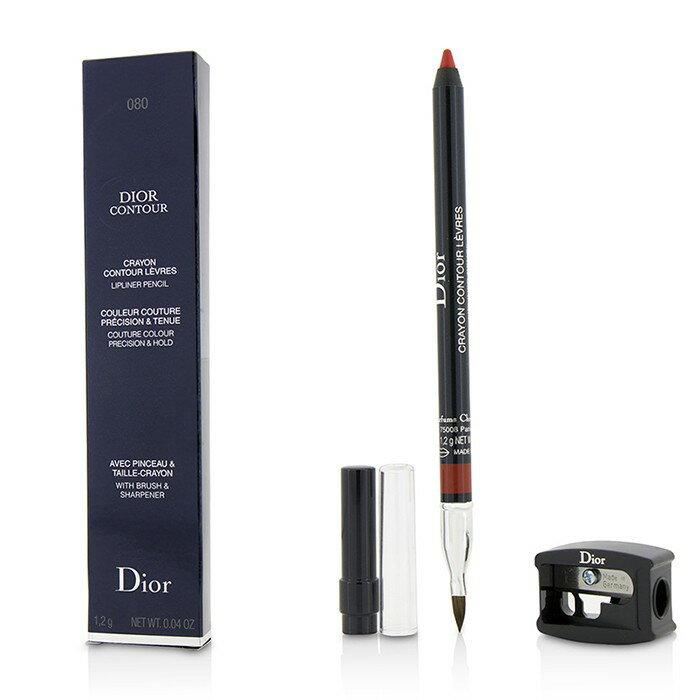 Christian Dior 迪奧 DIOR CONTOUR迪奧唇型筆- # 080 RED SMILE 1.2g/0.04oz