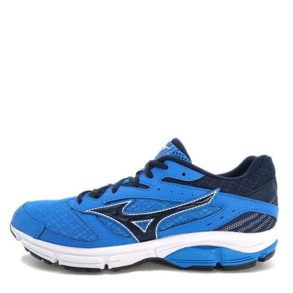 Mizuno Wave Surge [J1GC171318] 男鞋 運動 走路 跑步 氣墊 避震 休閒 美津濃 深藍 0