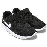 Shoestw【844868-011】NIKE TANJUN PSV 童鞋 中童鞋 慢跑鞋 運動 網布 黏帶 黑白 0
