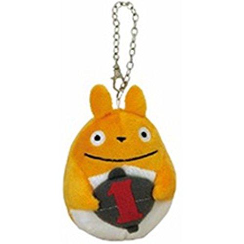 17050300031 勾掛鍊月份娃-龍貓1月 宮崎駿 龍貓 TOTORO 豆豆龍 吊飾 鑰匙圈 真愛日本