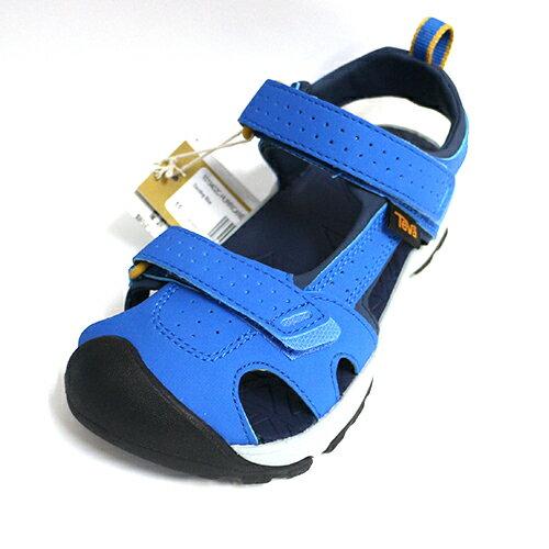 【TEVA水陸兩用鞋】小童運動涼鞋HurricaneToePro護趾機能-TV1019402CDLBL寶藍[陽光樂活]