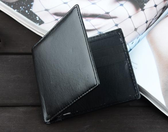 Mens Synthetic Leather Wallet Credit/ID Cards Holder Purse 3