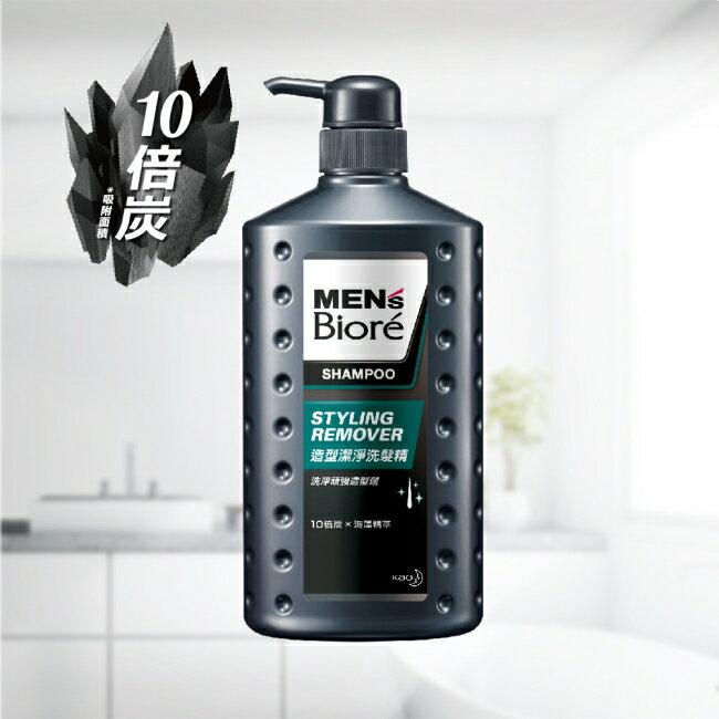MENS Biore 造型潔淨洗髮精750ML