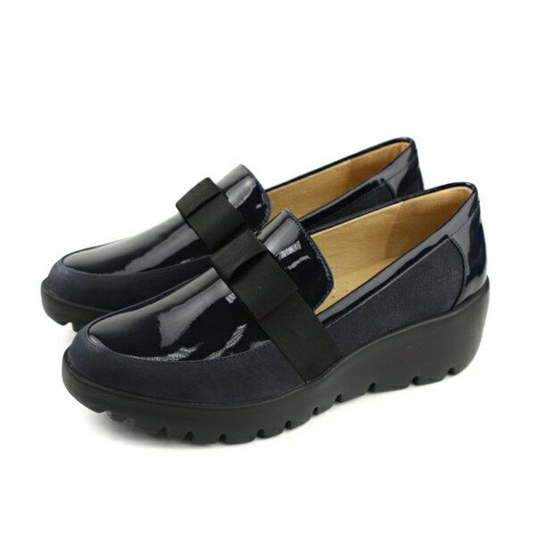 Kimo休閒鞋懶人鞋厚底深藍色女鞋K18WF145016no780