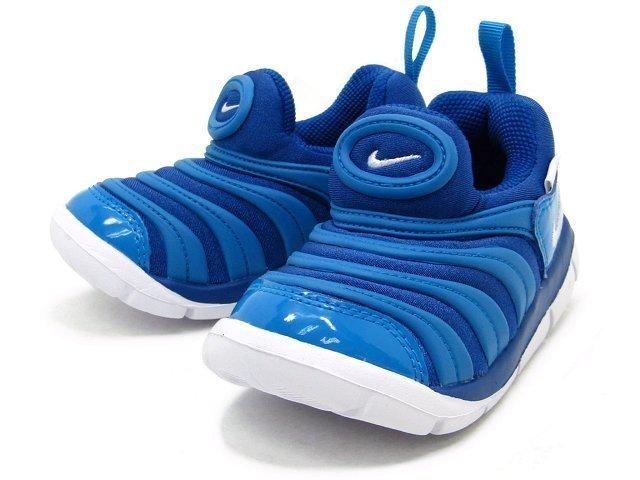 NIKE 343938 419 水藍色 小童 毛毛蟲鞋