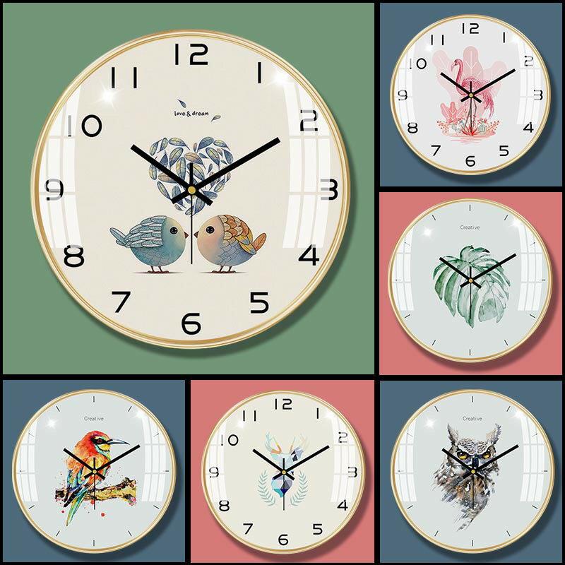 14英寸掛鐘北歐熱銷鐘錶網紅家居客廳時鐘裝飾Wall Clock