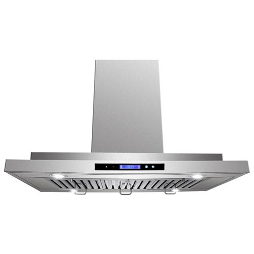 "AKDY New 36"" European Style Island Mount Stainless Steel Range Hood Vent Touch Control AK-GL9011-36 0"