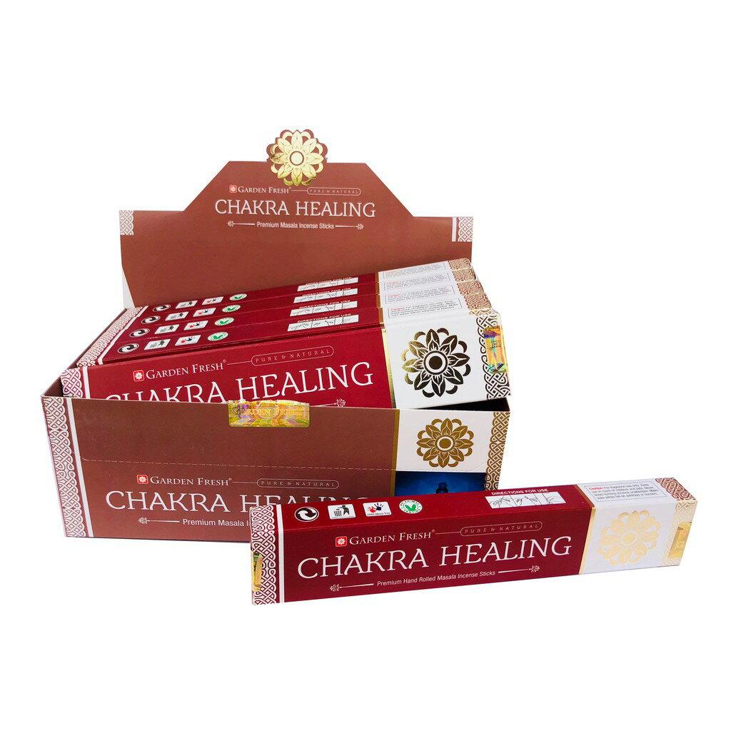 [綺異館]印度香 七輪療癒 15g GF CHAKRA HEALING