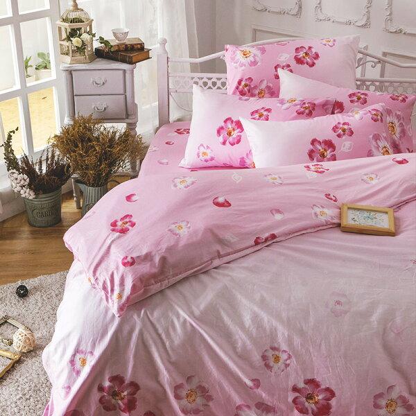床包雙人加大-100%精梳棉【AP翩翩飛舞】60支精梳棉,含兩件枕套,戀家小舖,台灣製
