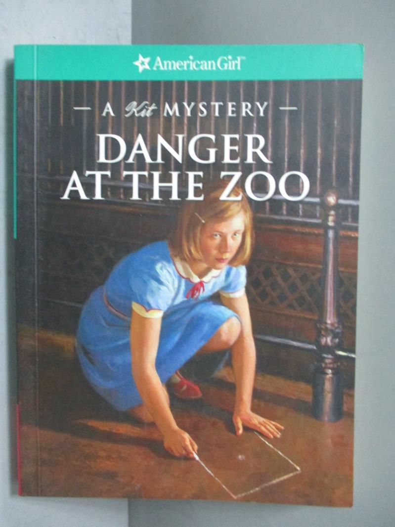~書寶 書T5/原文小說_IBN~Danger At The Zoo~A Kit Myst
