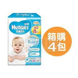 HUGGIES 好奇 pH5.5 護膚乾爽紙尿褲M【箱購58+8片x4包】【悅兒園婦幼生活館】