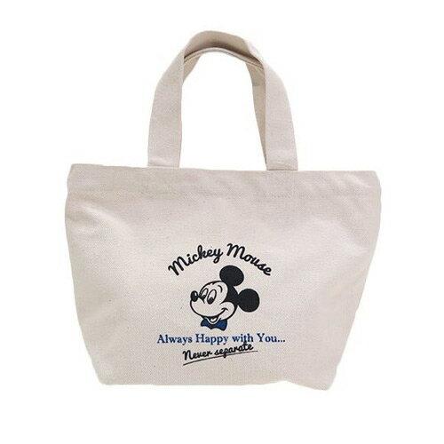 <br/><br/>  【日本進口正版】米奇 Mickey 迪士尼 帆布 手提袋 提袋 便當袋 Disney - 044764<br/><br/>