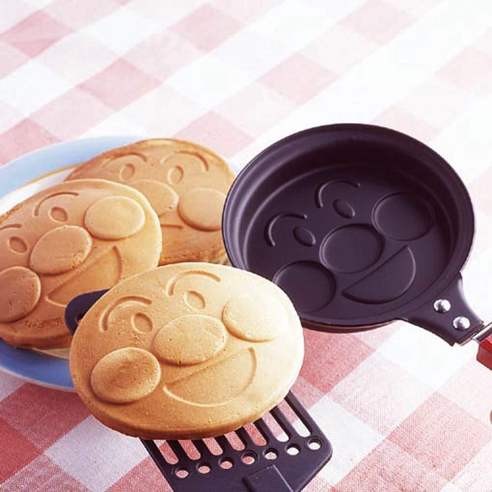 日製麵包超人鬆餅烤盤烘焙模具蛋餅平底鍋鬆餅鍋直火點心036951