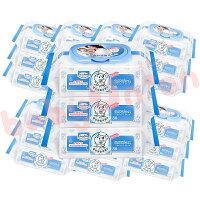 Baan貝恩 - 全新配方 嬰兒保養柔濕巾80抽 24包/箱 0