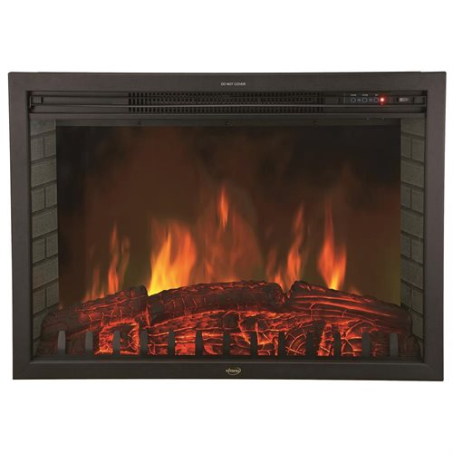 "AKDY 30"" Electric Fireplace Heat Tempered Glass Freestanding Logs Insert Adjustable 5200 BTU AKFP0029 0"